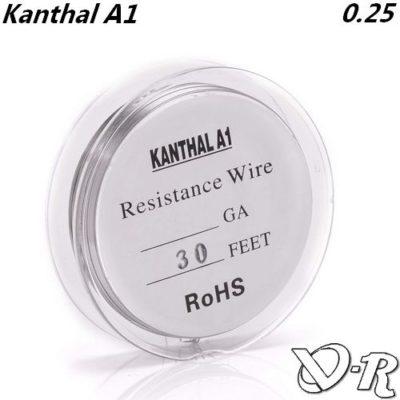 kanthal awg30 0.25 fil resistif chauffant