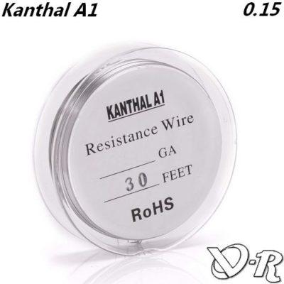 kanthal awg34 0.15 fil resistif chauffant