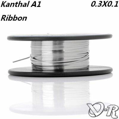 kanthal a1 ribbon 03 01 fil resistif plat