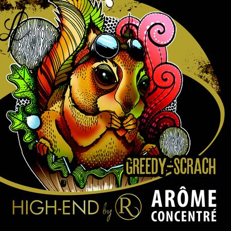 arôme concentré greedy scratch revolute high end