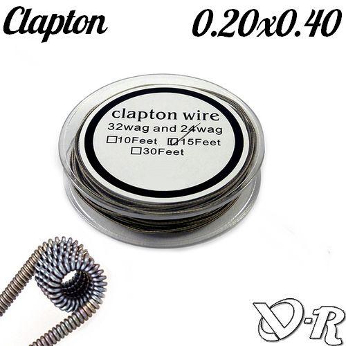 kanthal clapton coil 0.20 x 0.40 5m fison