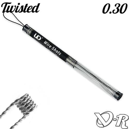 kanthal twisted 0.30 awg28 ud youde tech