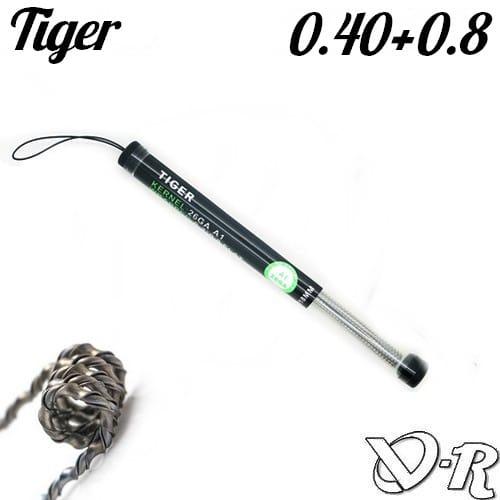 kanthal tiger wire 0 40 26ga    ribbon 0 8