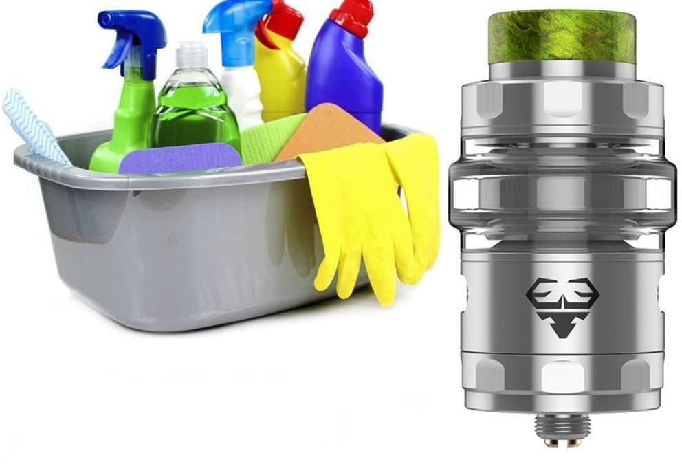 Bien nettoyer son atomiseur, clearomiseur ou dripper ! Comment faire….