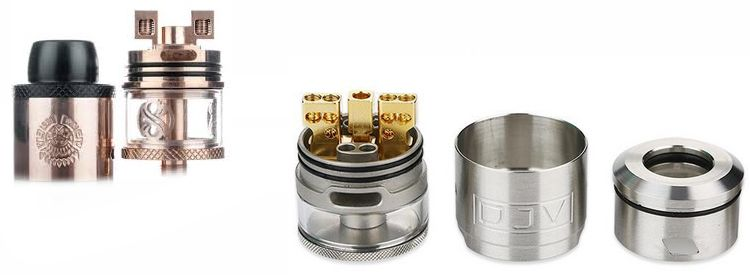 dripper tank reservoir atomiseur rdta