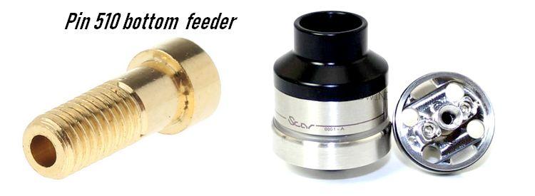 dripper tank avec reservoir bf bottom feeder